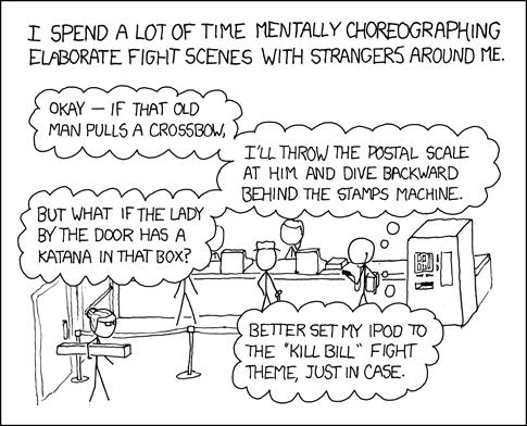 Comics Post Office Showdown
