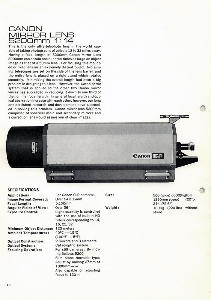 EF 10-400mm f/1.2?