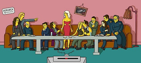 The Last Supper Revisited, Again (from io9.com)
