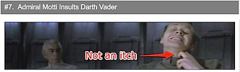 Admiral Motti Insults Darth Vader [Cracked.com]