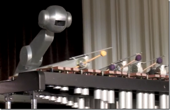 Robot Marimba Player